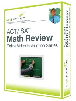 ACT and SAT Math Review